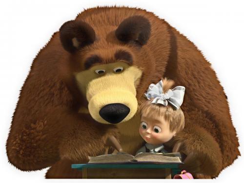 Маша и медведь скачать музыку песенку
